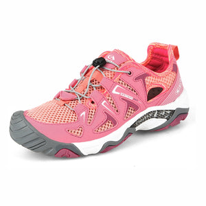 Clorts Women's Water Shoe Athletic Lightweight Kayaking Hiking Walking Sneaker