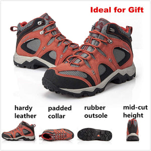 Clorts Men's Hiking Boot Waterproof Lightweight Backpacking Trekking Trail Shoes