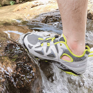 Clorts Men's Water Hiking Shoe Breathable Lightweight Wet-Traction Grip