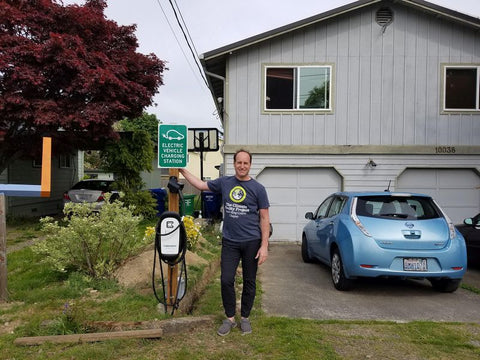 Personal Climate Action: Creating A Community Electric Vehicle Charging Station