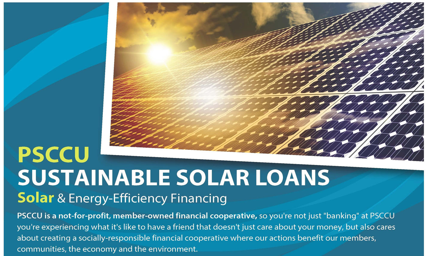 Sustainable Solar Loans with Puget Sound Cooperative Credit Union