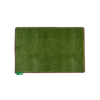 Large grass mat in Earth Brown trim.