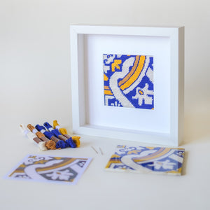 Portuguese Tiles needlepoint tapestry kits & canvases collection. An heritage to create with your own hands unique handmade items perfect for gifts!