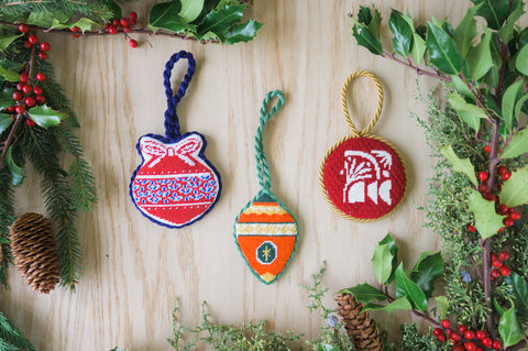 Shop our beautiful DIY Christmas ornaments designed by our unwind studio artists. Personalized baubles to decorate your tree, handmade with love by you!