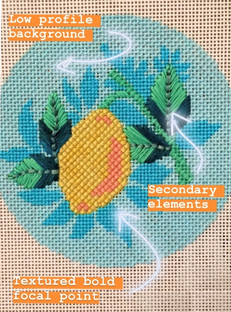 tips how to select needlepoint stitches