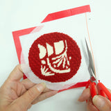 Needlepoint Christmas Ornament how to do