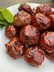 Brown Sugar Bourbon Meatballs (Pantry Add On)