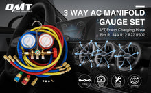 Load image into Gallery viewer, AC Diagnostic Manifold Freon Gauge Set