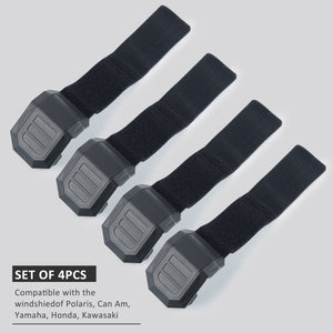 Windshield Clamps Straps Kit