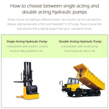Load image into Gallery viewer, Single Acting Hydraulic Pump Trailer