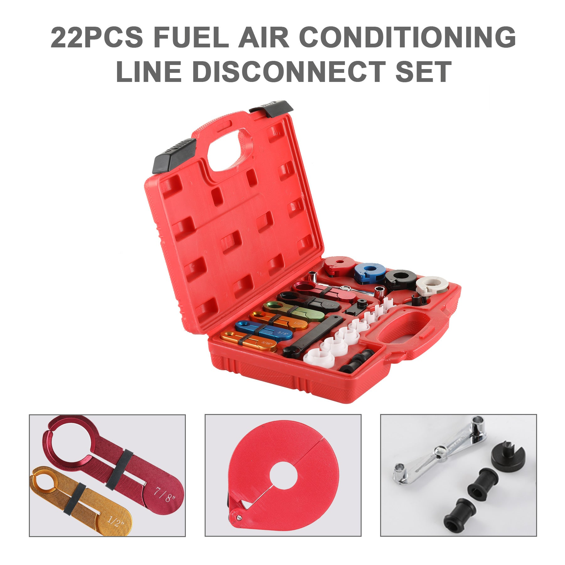 Fuel Air Conditioning Line Disconnect Set