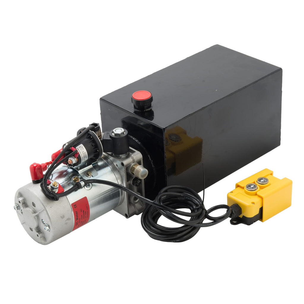 Single Acting Hydraulic Pump for Dump Trailers