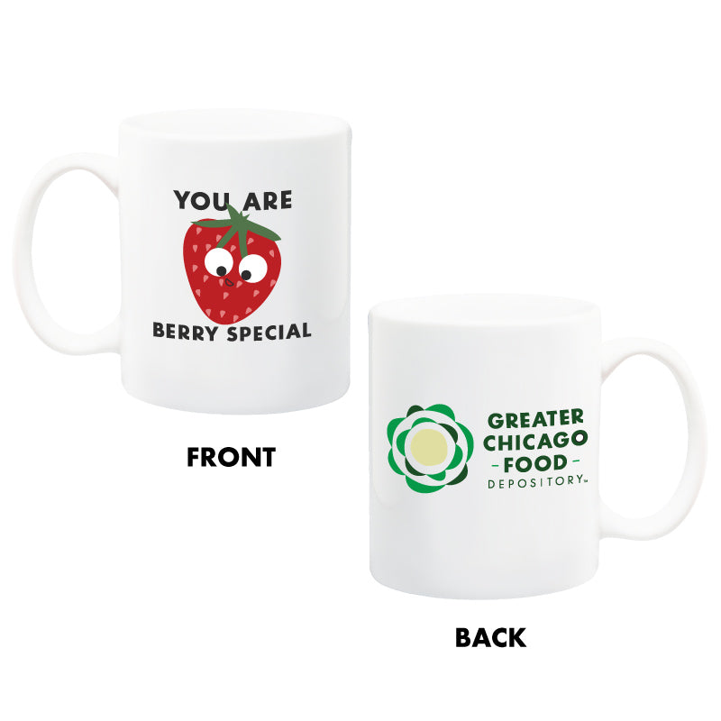 You Are Berry Special Mug Greater Chicago Food Depository