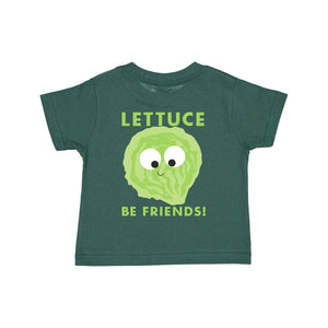 """LETTUCE BE FRIENDS"" YOUTH PUN TEE"