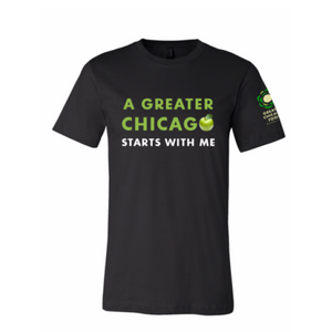 """A GREATER CHICAGO"" ADULT PUN TEE"