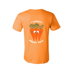 """I CARROT ABOUT YOU"" ADULT PUN TEE"