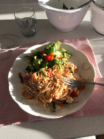 Vegan fried noodles - Grocery Delivery West Vancouver BC