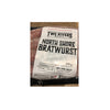 TWO RIVERS NORTH SHORE BRATWURST 375G (FROZEN)