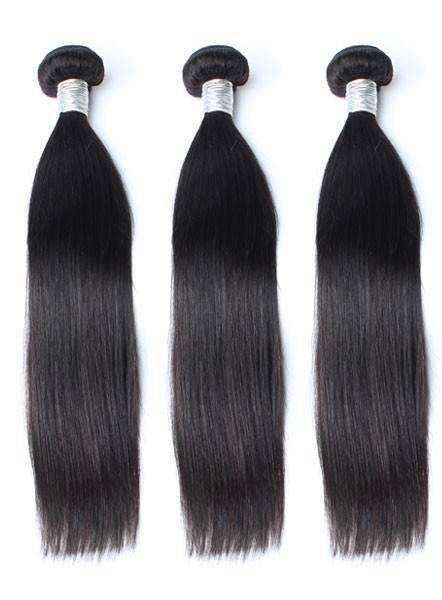 Luxe Mink Brazilian Straight 3 Bundle Deal