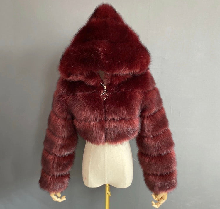 """Bambi Fur "" Coat"