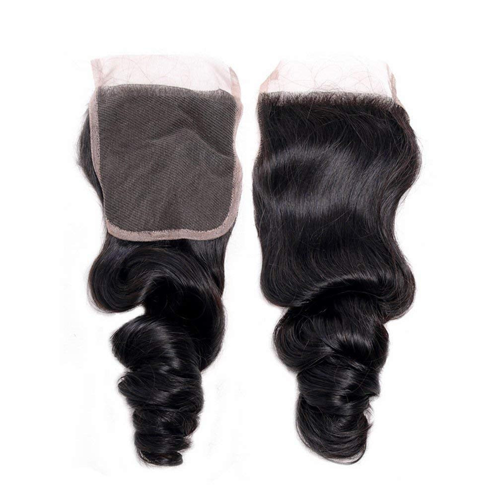 Luxe Mink Brazilian Loose Wave Closure