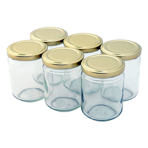 Tala Pack 6 900g Jars with Gold Lids with Tala artwork