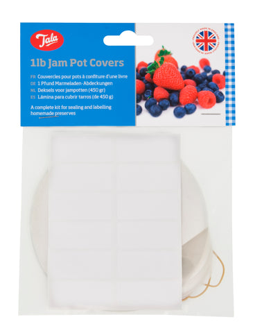 Tala 1lb Jam Pot Covers