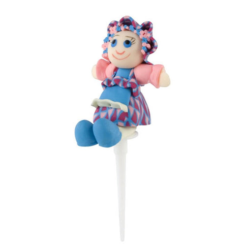 Tala Blue Rag Doll Cake Topper