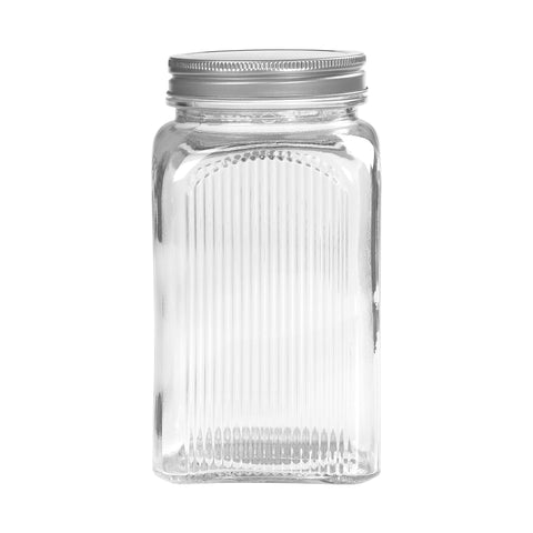 Tala Glass Jar with screw top Lid 1250ml capacity