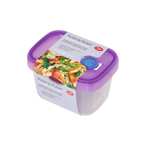 Tala Push & Push Food Storage Container with date dial and steam release 1250ml