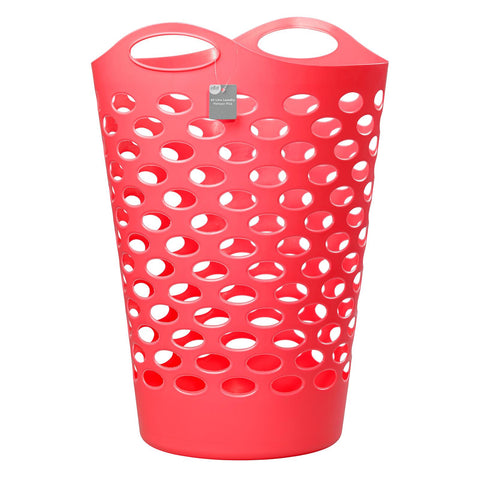Elliotts 60 Litre Laundry Hamper Pink