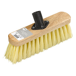 Elliott FSC¨ 25cm Varnished Broom Head With Soft Fibres