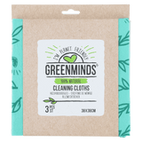 Greenminds cleaning cloths 3 pcs