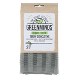 Greenminds bio cotton terry cloths 2 pcs