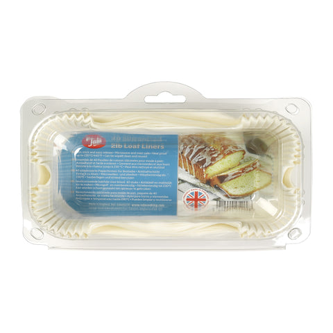 Tala Set 40 Siliconised GreaseproofLoaf Tin Liners 2lb