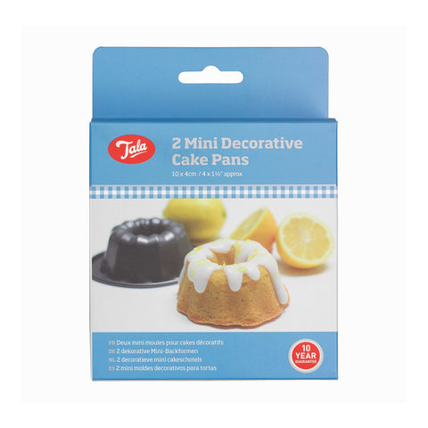 Tala Everyday 2 Mini Decorative Cake Pans