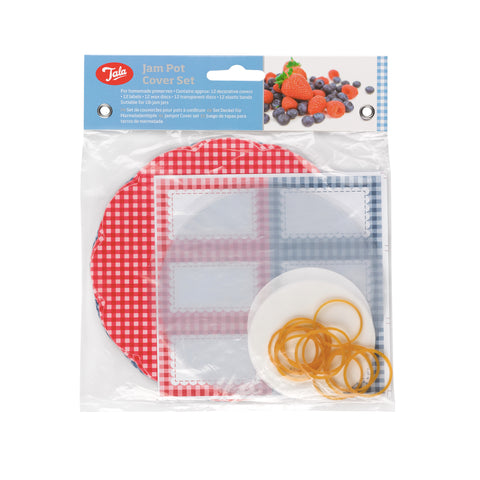 Tala Everyday Gingham Jam Pot Cover Set