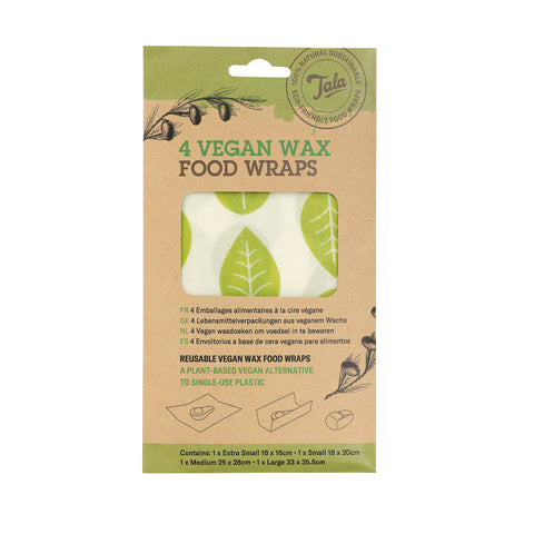 Tala Vegan wax food wraps 4pcs