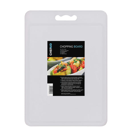 Chef Aid White Chopping Board