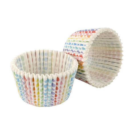Tala 32 Rainbow Dots Cupcake Cases