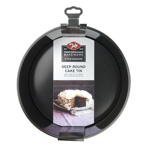Tala Performance Non-Stick 25cm dia Round Deep Cake Pan