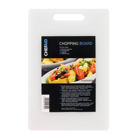 Chef Aid Chopping Board 30 x 20 x 0.9cm