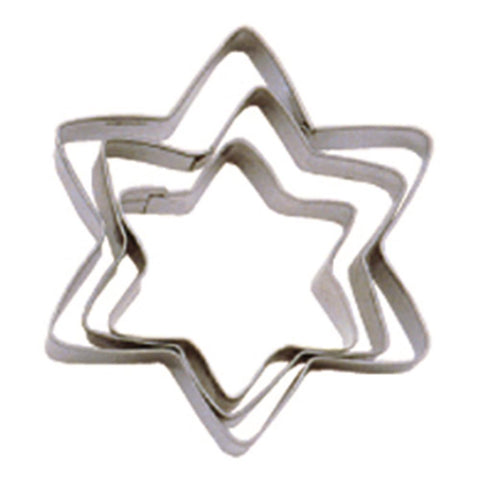 Tala Set of 3 Star Biscuit Cutters