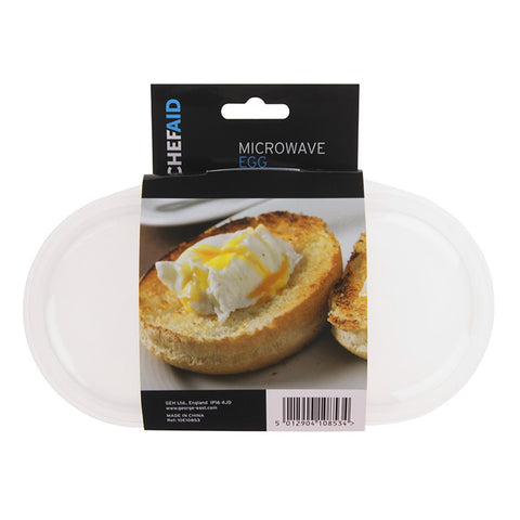 Chef Aid Microwave Egg Poachers (clear)