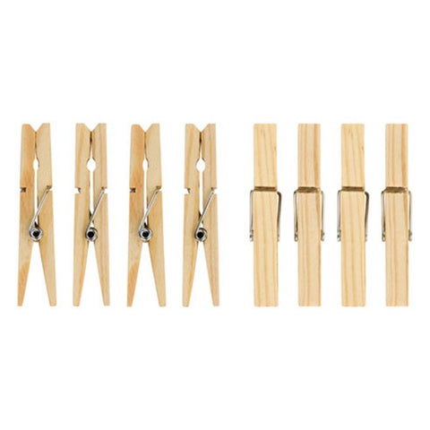 Elliotts Pinewood Clothes Pegs 36 Pack