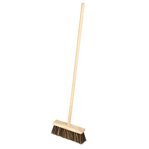 Elliott FSC¨ 33cm Wooden Sweeping Broom With Natural long Cane Fibres