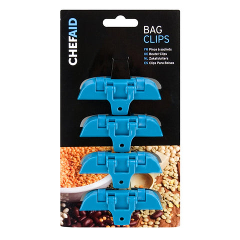 Chef Aid Bag Clippets Set Of 4