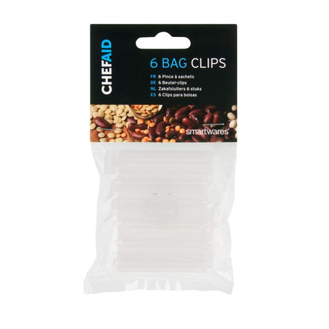 Chef Aid 6 Bag Clips