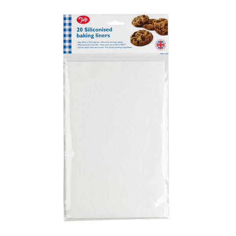 Tala 20 Siliconised Baking Liners