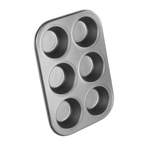 Chef Aid 6 Cup Muffin Tray
